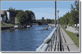 Transit Information for the Richelieu / Chambly Canal