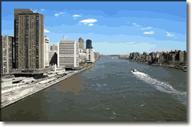 Navigation and Transit Information for the East River