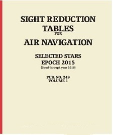 Sight Reduction Tables Pub. HO-249