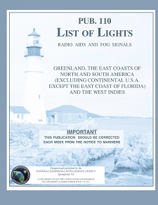 NGA Foreign List of Lights